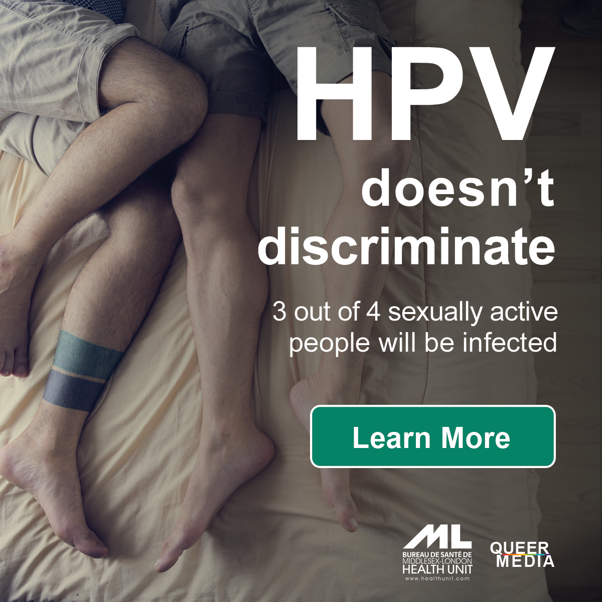 QueerEvents.ca - HPV Awareness Campaign