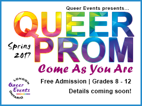 Queer Events Presents - Queer Prom for Youth 2017