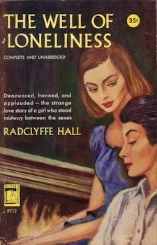 radclyffe hall classic novel image from 1950's