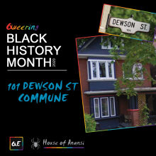 QueerEvents.ca - queer history - creating spaces 101 dewson st toronto
