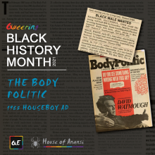 queerevents.ca - black history month - racism within the body politic
