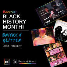 queerevents.ca quer black history month 2020 bricks and glitter
