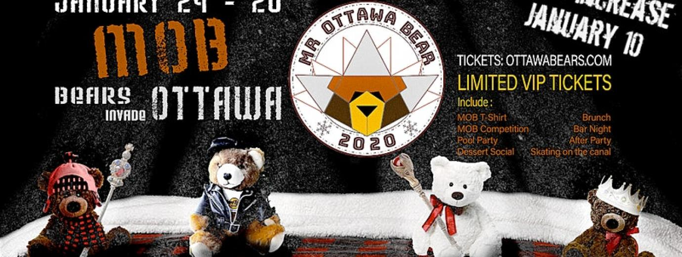 QueerEvents.ca - Ottawa event listing - Mr Bear Ottawa Festival 2020