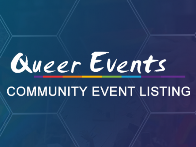 Queer Events - Community Listing Event Banner