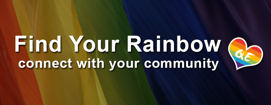 QueerEvents.ca - Find Your Rainbow - Banner
