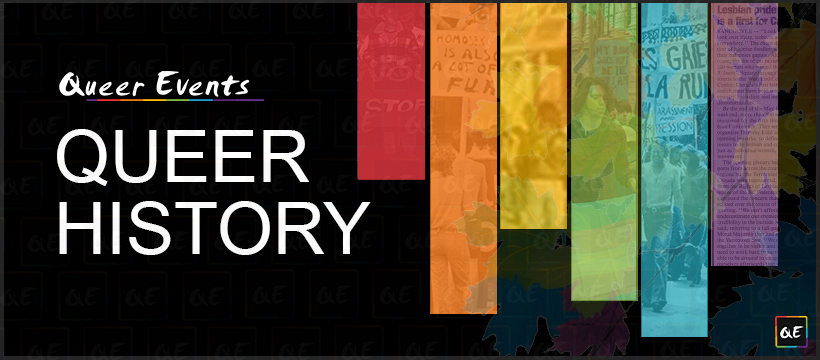 QueerEvents.ca - Canadian Queer History Timelines