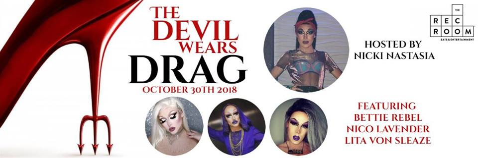 QueerEvents.ca - London - Devil Wears Drag Event banner