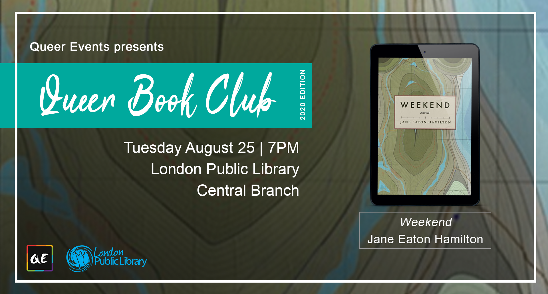 London August 2020 Events.Queer Book Club Queerevents Ca