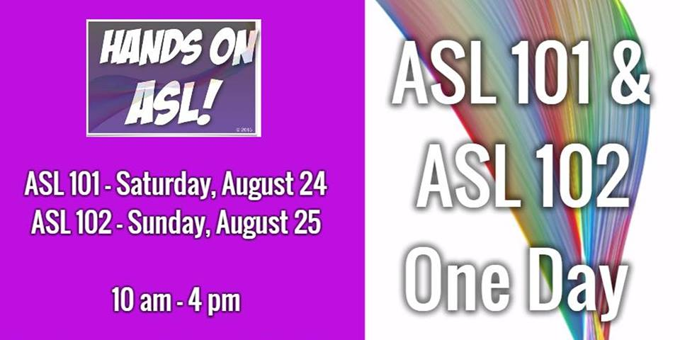 QueerEvents.ca - Hamilton event listing - Queer ASL Workshop