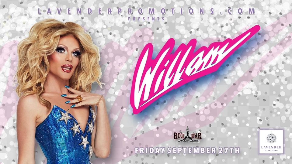 QueerEvents.ca - Windsor event listing - Willam Live in Windsor event banner
