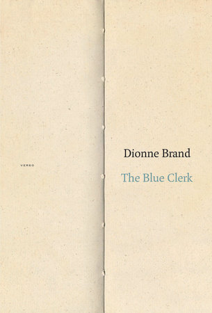 QueereEvents.ca - Book- Dionne Brand - The Blue Clerk