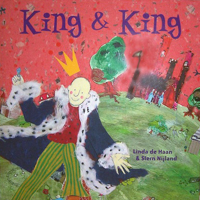 QueerEvents.ca - King and King - Book Cover