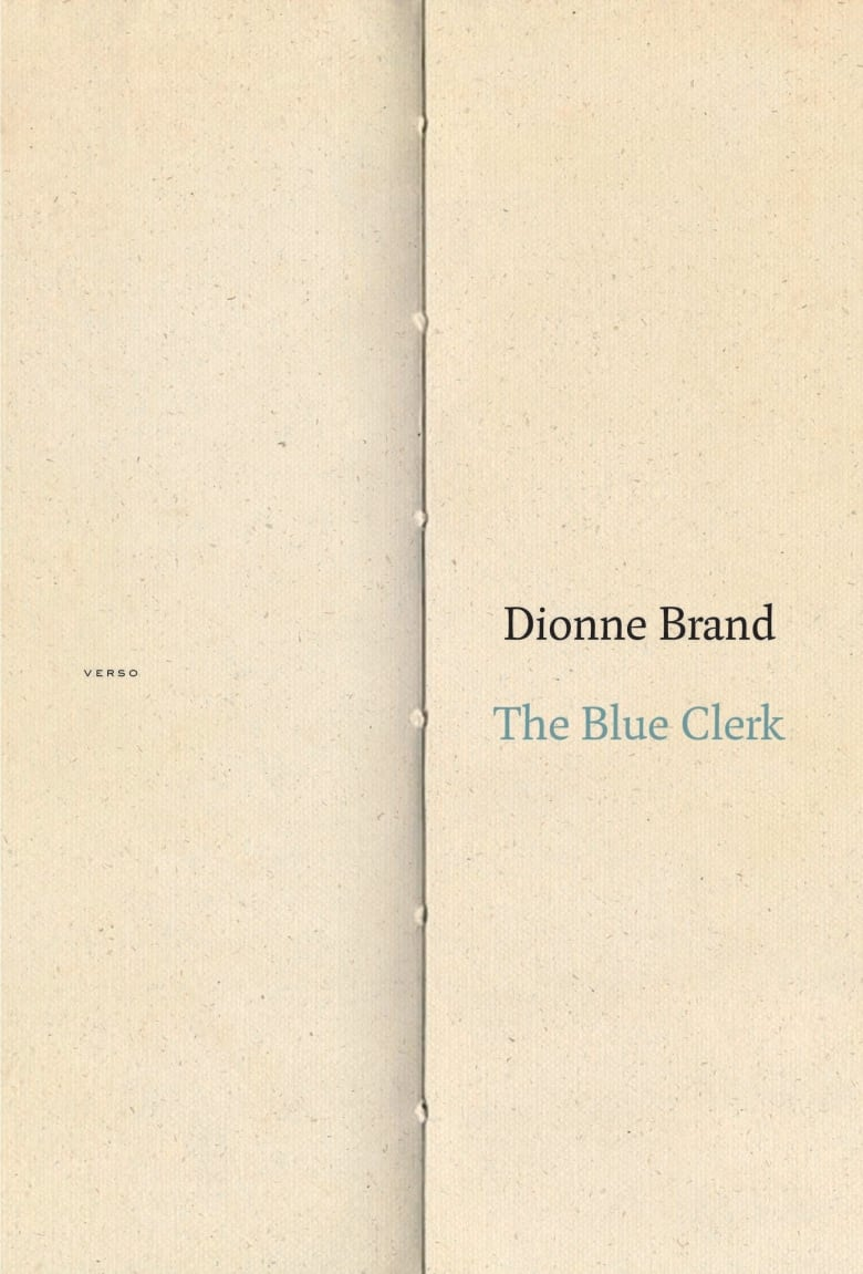 QueerEvents.ca-The Blue Clerk by Dionne Brand- Book Cover