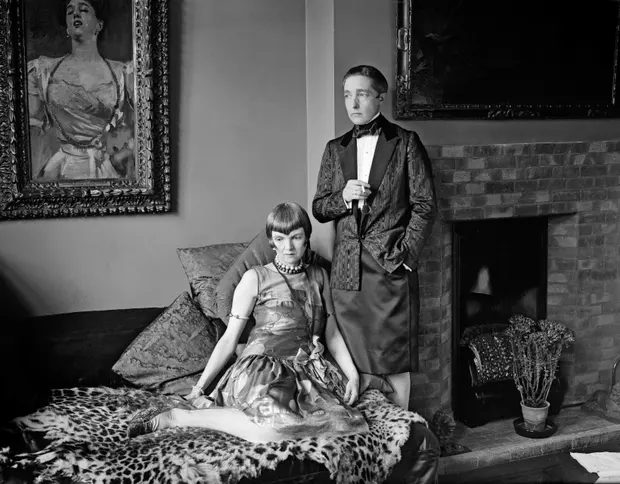 radclyffe hall with partner lady-una 1927
