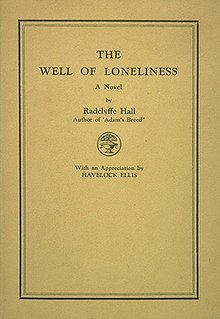 the well of loneliness book cover image