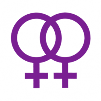 QueerEvents.ca - queer culture - lesbian community symbol double venus