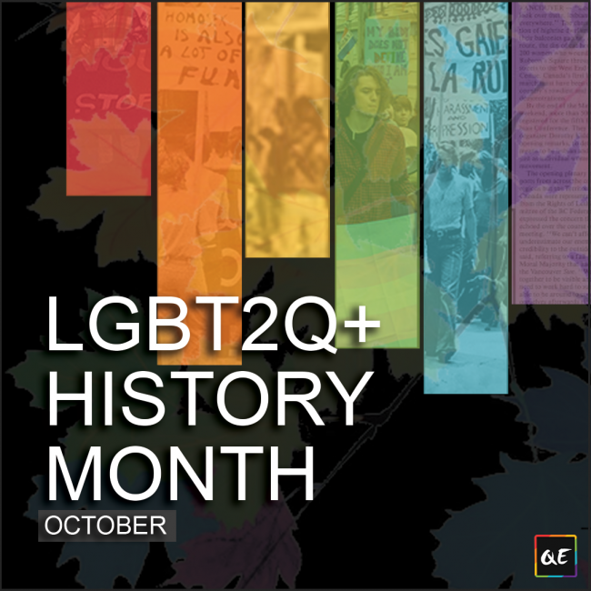 QueerEvents.ca - Queer History Month