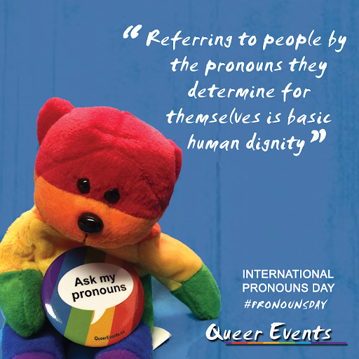 QueerEvents.ca - International Pronouns Day - Post image