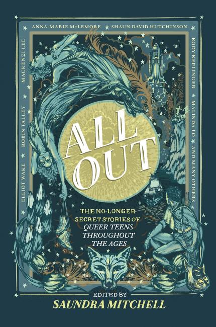 QueerEvents.ca - Book - All Out-Saundra Mitchell