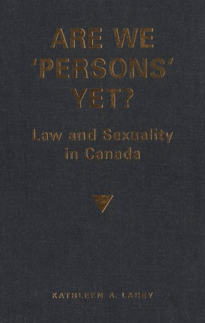 QueerEvents.ca - queer book listing - are we persons yet cover image