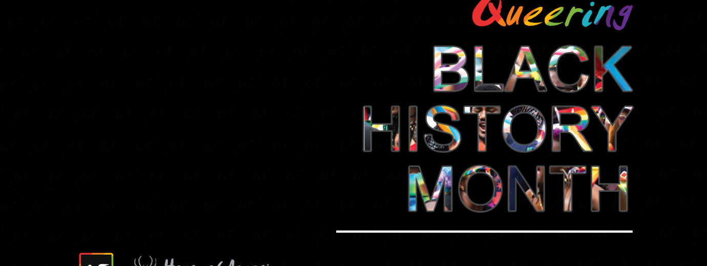 QueerEvents.ca - queer history - queering black history month banner