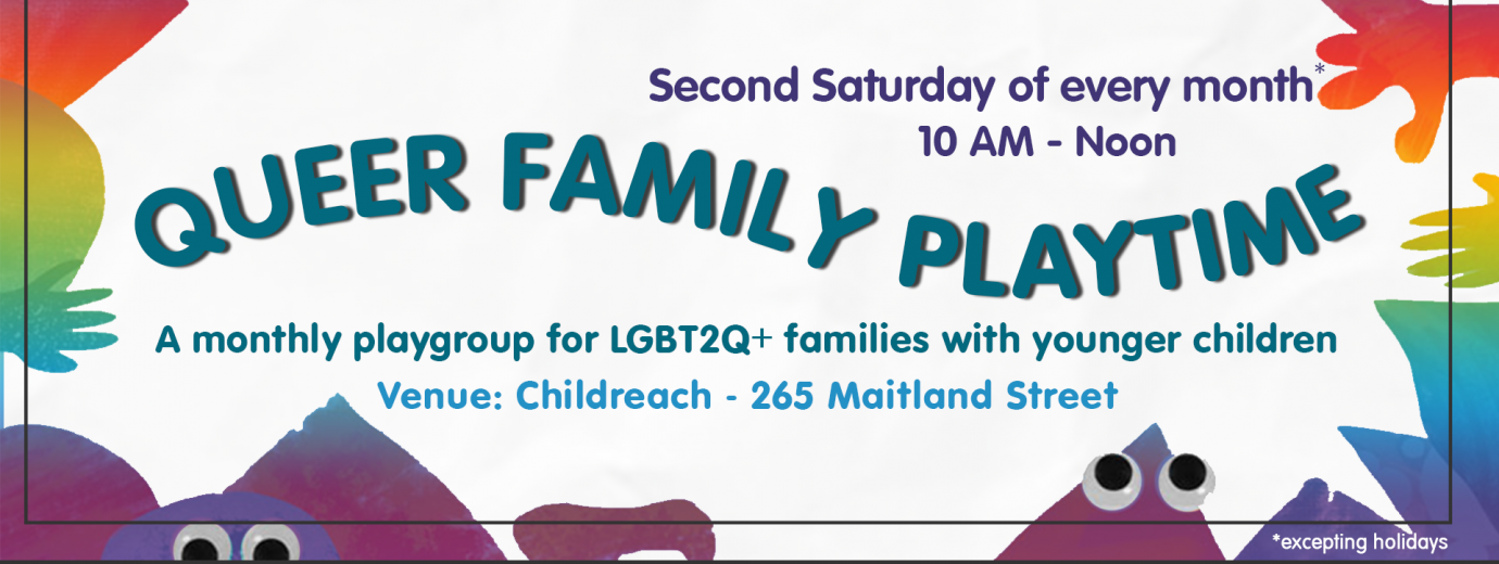 QueerEvents.ca Listing - Queer Family Playtime