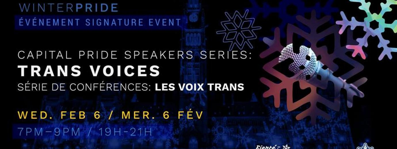 QueerEvents.ca - Ottawa winter pride event listing - Trans Voices