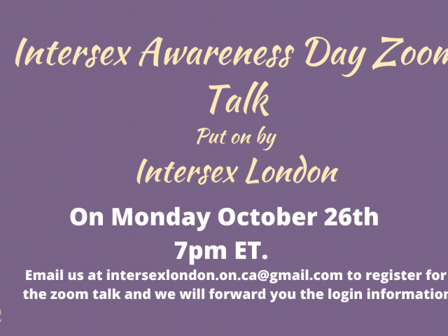 QueerEvents.ca - virtual event listing - intersex info session - oct 2020