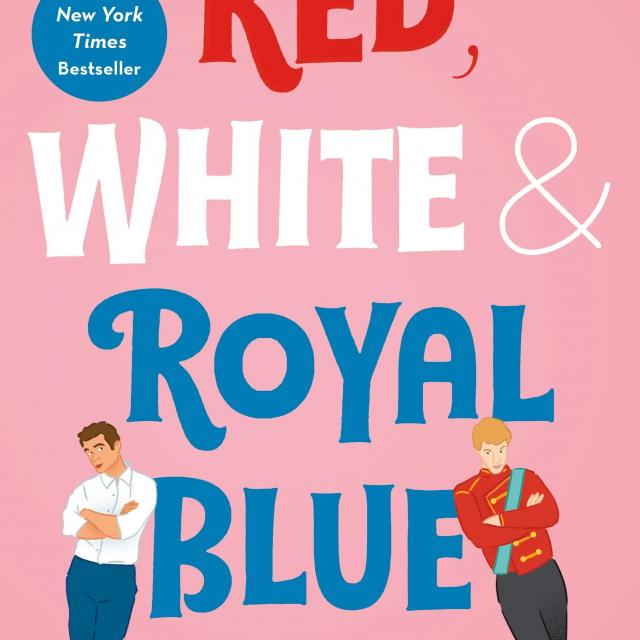 QueerEvents.ca - Queer Media - Book Cover - Red, White & Royal Blue