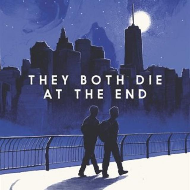 QueerEvents.ca - Queer Media - Book Cover - They Both Die at the end