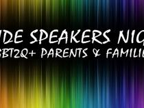 QueerEvents.ca - London event listing - Pride Speakers Night 2019