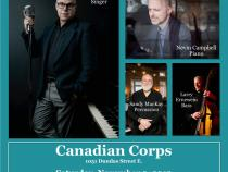 QueerEvents.ca - London event listing - Rick Kish Combo - November event