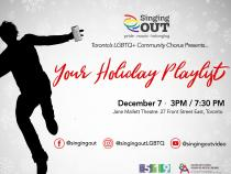 QueerEvents.ca - Toronto event listing - Your Holiday Playlist - 2019 concert event media