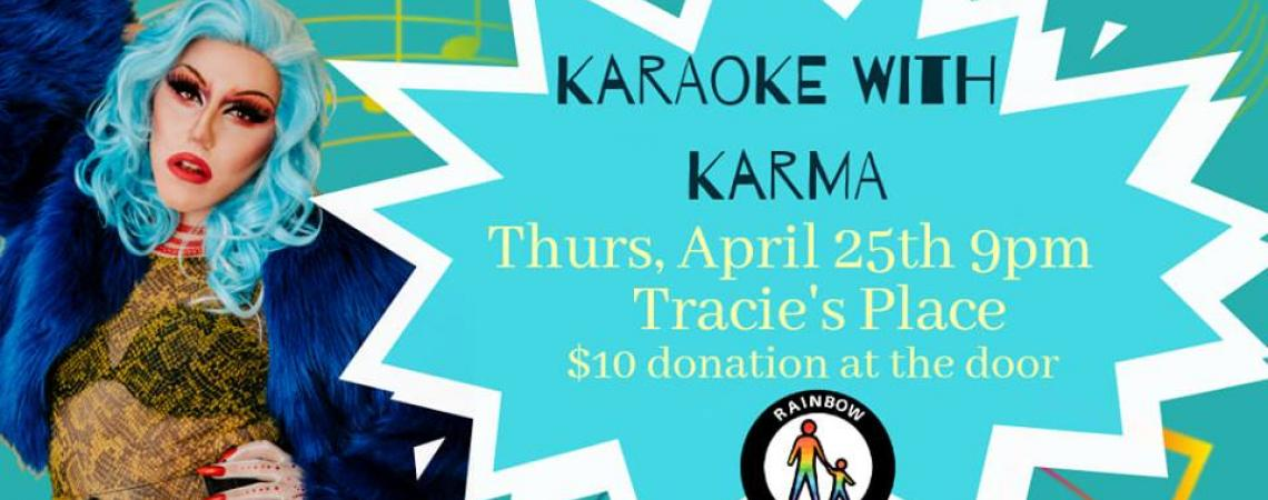 QueerEvents.ca - Hamilton event listing - Karaoke With Karma